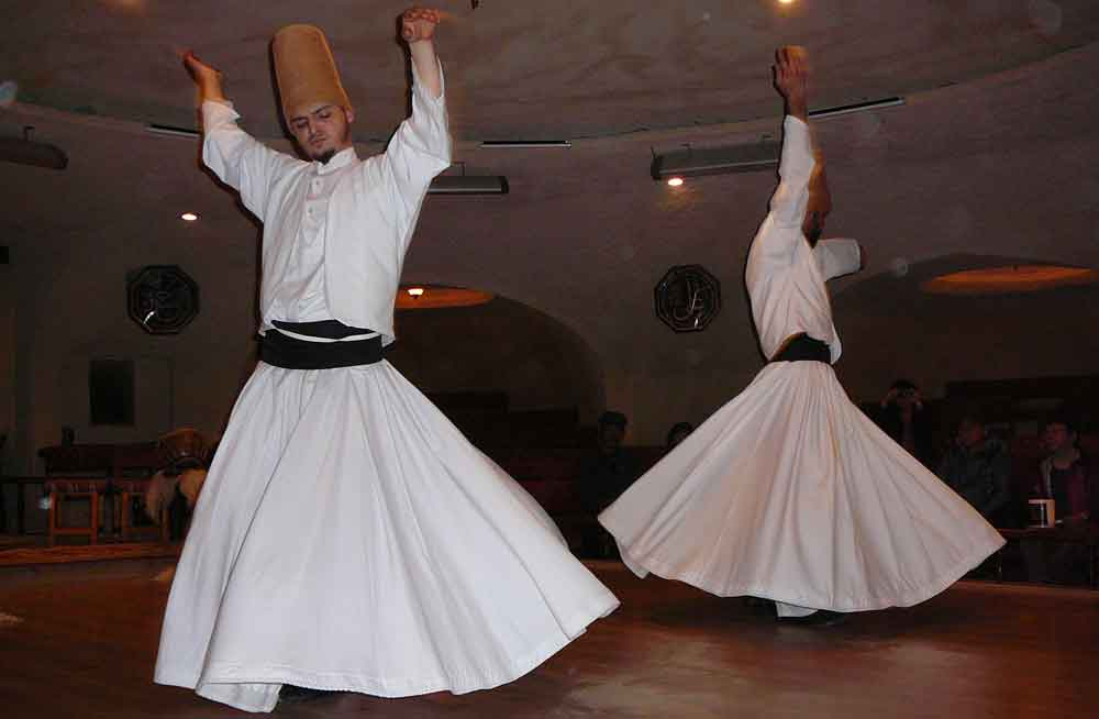 Mevlana Whirling Dervishes sema ceremony